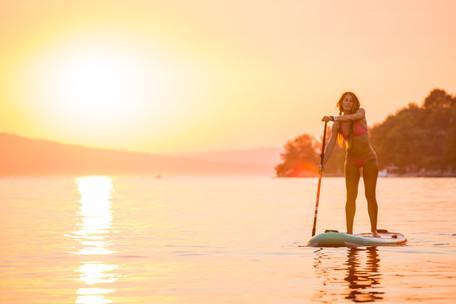 Sunset SUP in Brac, Croatia