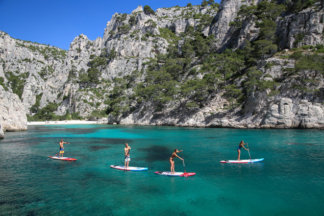 Scenic SUP Paddle