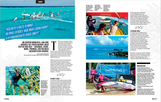 Article in Windsurfer Slovakia