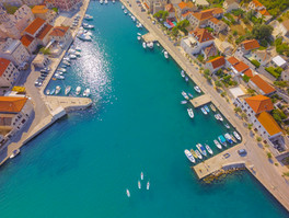 SUP Drone Shot, Croatia