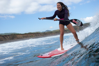 SUP Surfing in the Azores