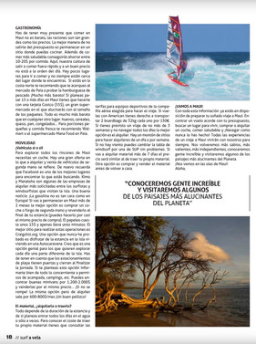 Article in Surf a Vela