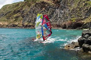 Windsurfing in São Miguel