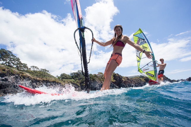 Wind SUP in the Azores