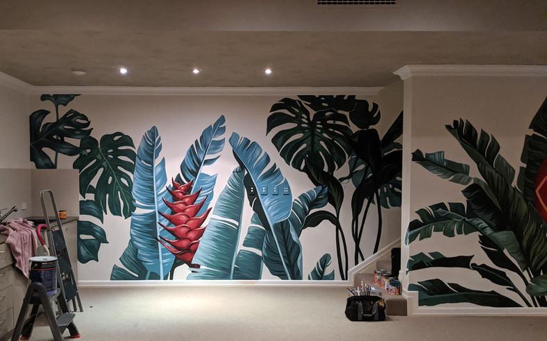 Residential mural, WA 2020