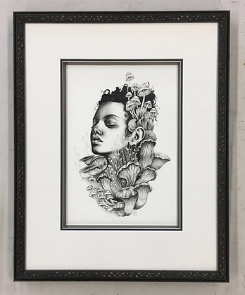 "Framed Original Artwork: ""Undergrowth II"""