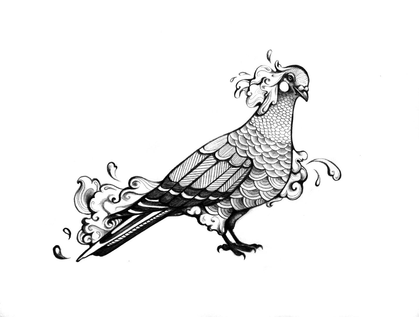 Private illustration commission.