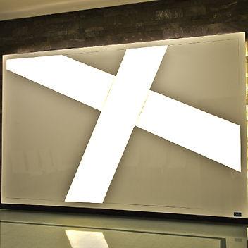 Croce Cristian a LED Edilegno