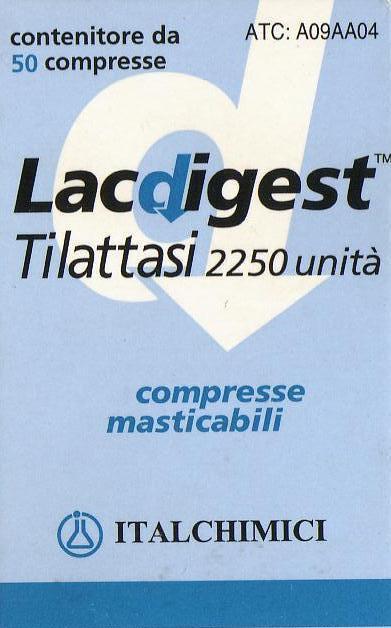 lacdigest enzima lattasi per intolleranza al lattosio