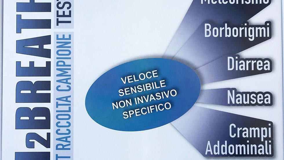 Breath Test H2 per l'intolleranza al lattosio