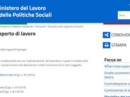 Lavoro dipendente in Italia? NOT FOUND!