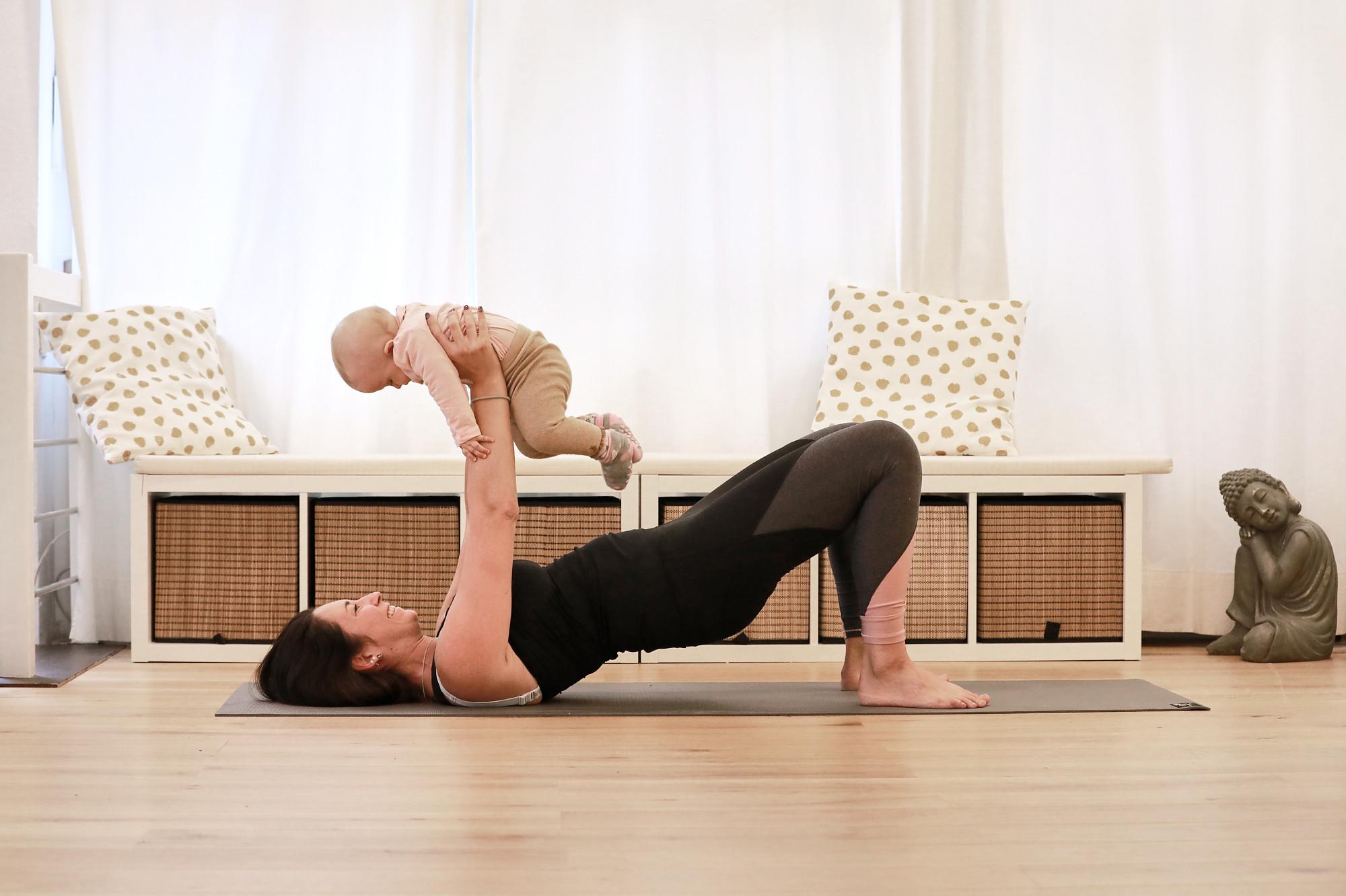 Rückbildung (mit & ohne Baby)