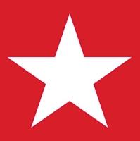 Tovagliolo Star Red