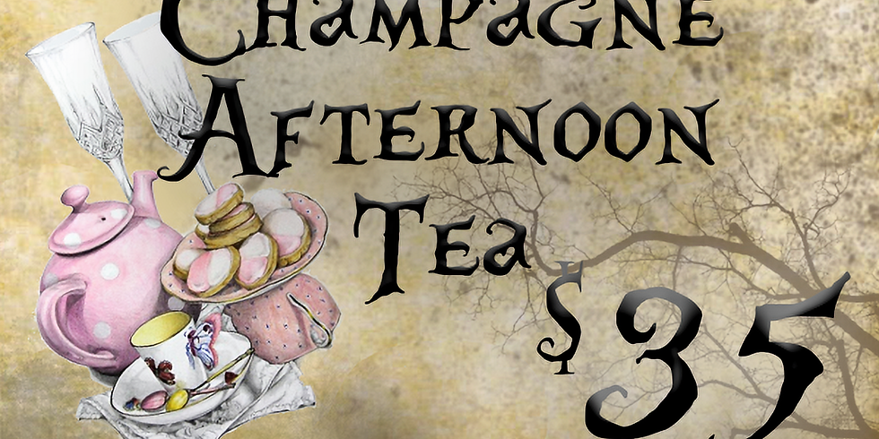 Witches Champagne Afternoon Tea