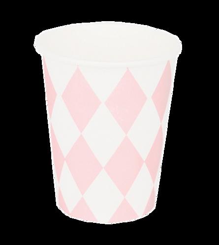 Bicchieri Diamond Baby Pink