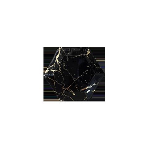 Piatto Noir Marble Mini