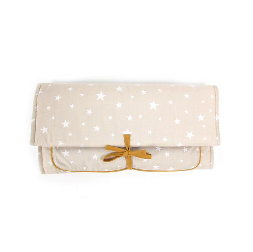 Changing Pad Taupe & Stars