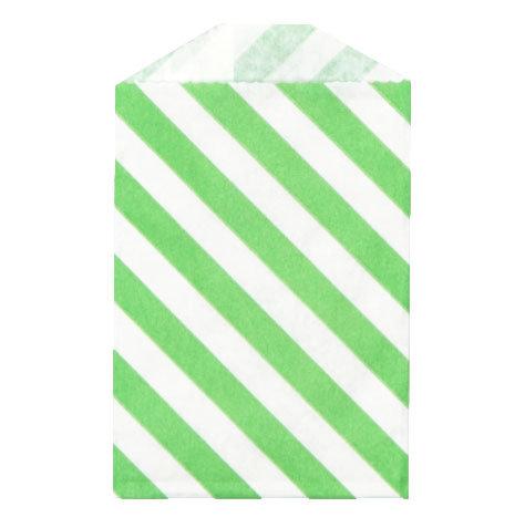 Little Bitty Bags Diagonal Green