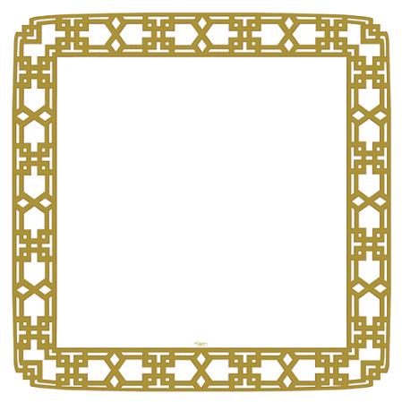 Piatti Gold Frame