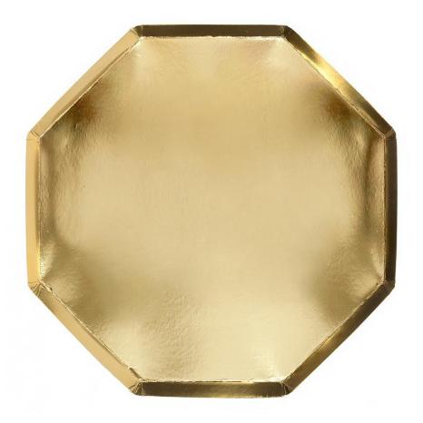 Piatti Metal Gold Big