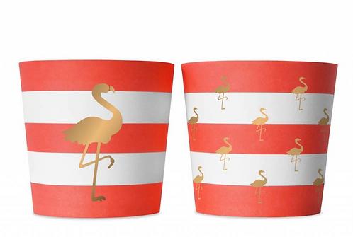 Food Cup Preppy Flamingo