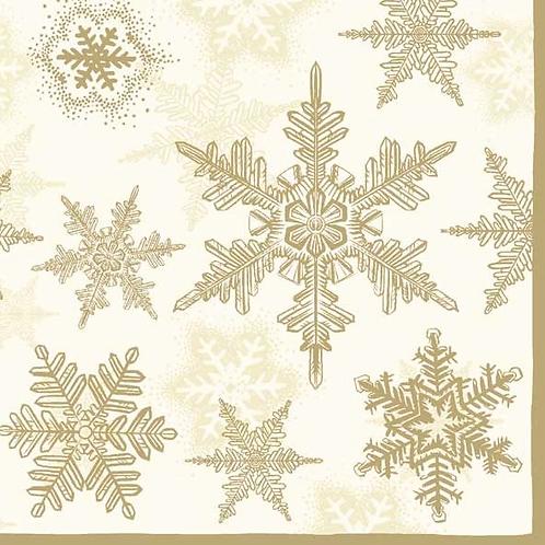 Tovagliolo Snowflakes Oro