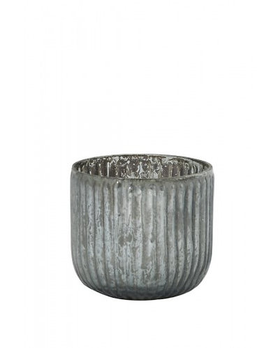 Tealight Belmont Dark Grey