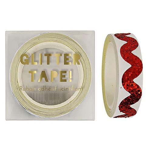 Glitter Tape Rosso