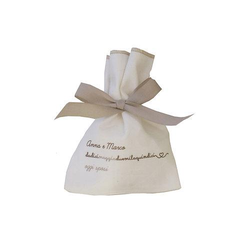 Wedding Fabric Bag - 25pz