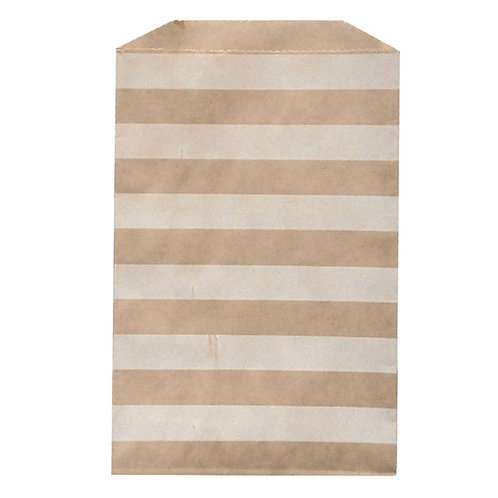 Big Bitty Bags Stripe Kraft