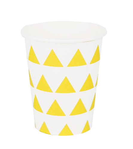 Bicchieri Triangle Yellow