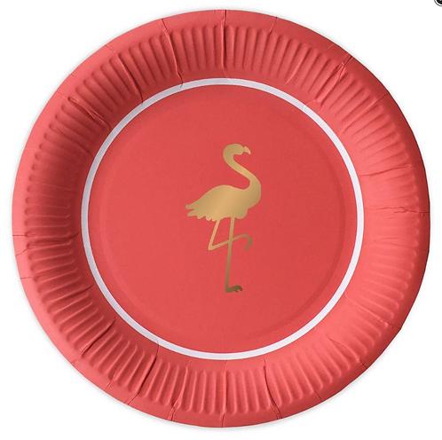 Piatti Preppy Flamingo
