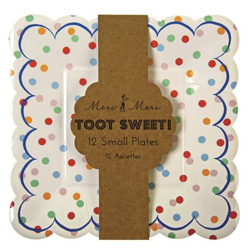 Piatti Piccoli A-Pois Toot Sweet