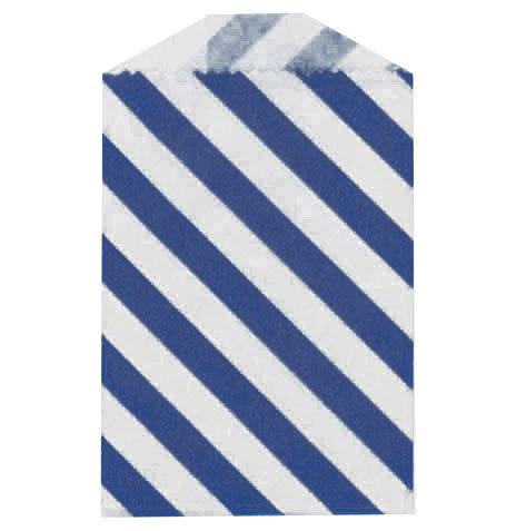 Little Bitty Bags Diagonal Blue
