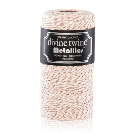 Bakers Twine Metallic Rame - mt10