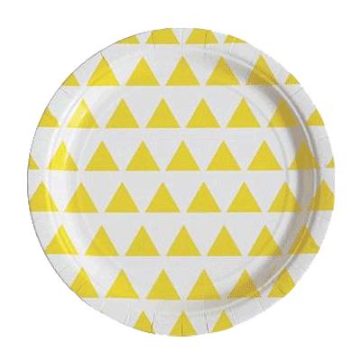 Piatti Triangle Yellow