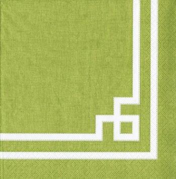 Tovagliolo Geometric Green