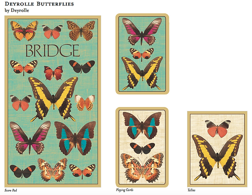 Set Carte da Bridge Butterfly