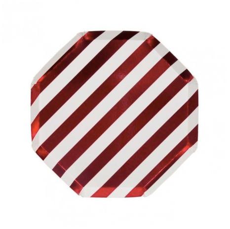 Piatti Metal Red Small