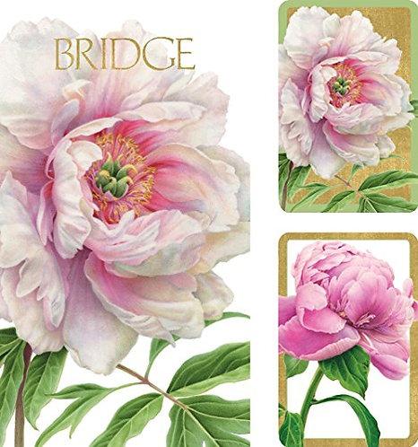 Set Carte da Bridge Peonies