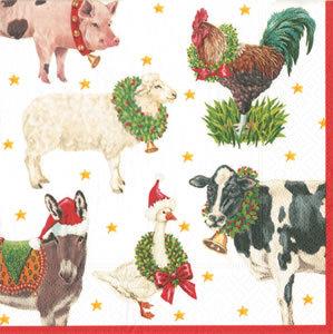 Tovagliolo Christmas Farm