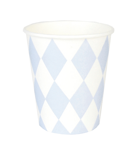 Bicchieri Diamond Baby Blue