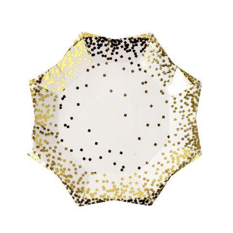 Piatti Gold Confetti Small