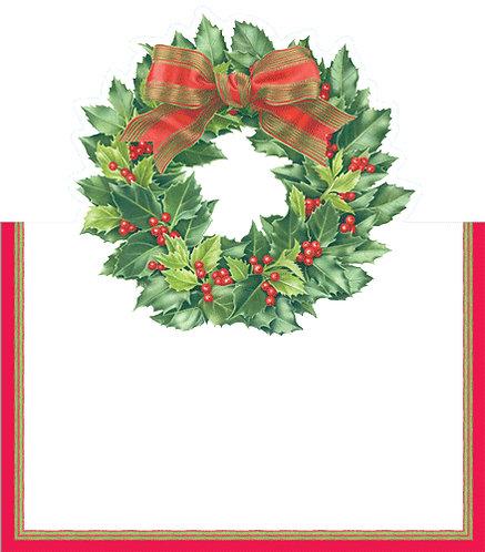 Segnaposto Classic Christmas Garland