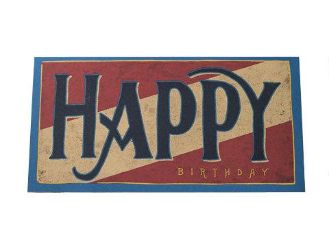 """""""Big Happy"""" Card"""