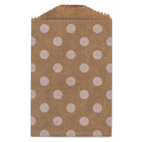 Little Bitty Bags Polka Dot Kraft