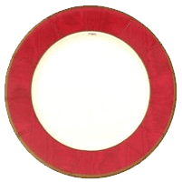 Piatti Moirè  Silk Red