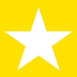 Tovagliolo Star Yellow