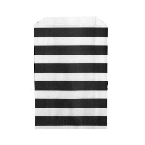 Big Bitty Bags Stripe Black