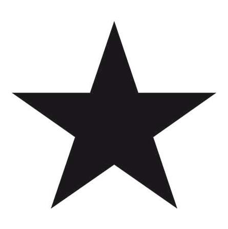 Tovagliolo Star Black